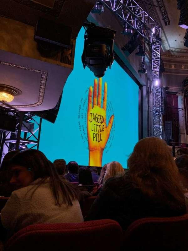 Broadhurst Theatre, sección: Orchestra L, fila: G, asiento: 21