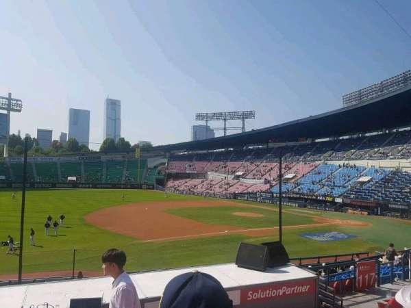 Jamsil Baseball Stadium, sección: 220, fila: 6, asiento: 56