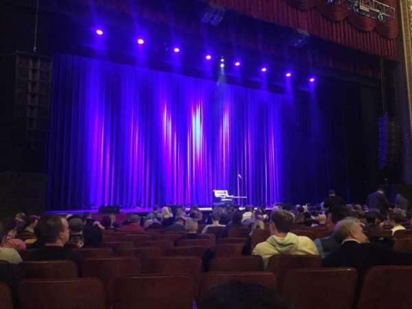 Chicago Theatre, sección: MNFL3L, fila: MM, asiento: 313