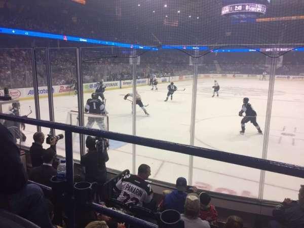 Allstate Arena, sección: 106, fila: D, asiento: 8