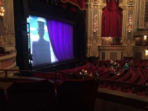 Nederlander Theatre (Chicago), sección: Dress Circle L, fila: CC, asiento: 7