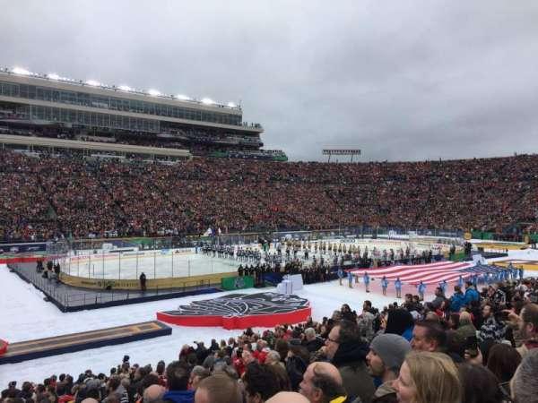 Notre Dame Stadium, sección: 13, fila: 29, asiento: 13