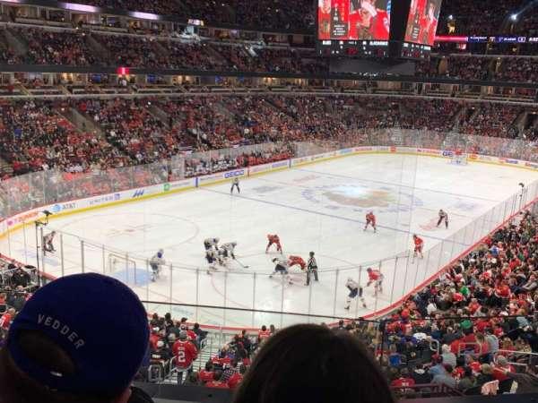 United Center, sección: 223, fila: 2, asiento: 7