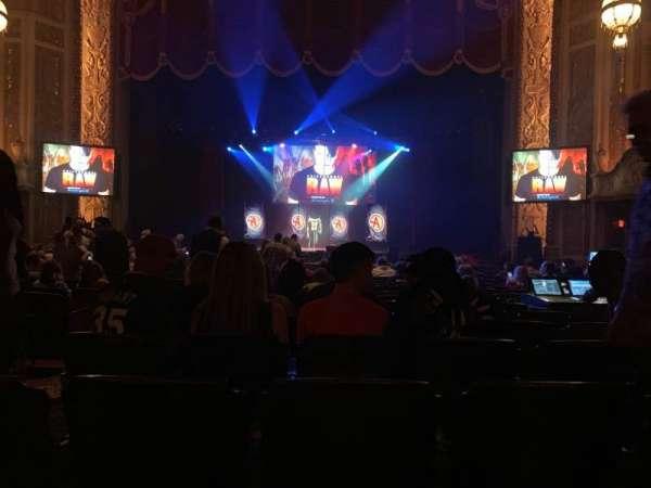 Rialto Square Theatre, sección: 3, fila: U, asiento: 303