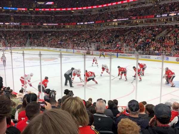 United Center, sección: 108, fila: 10, asiento: 8