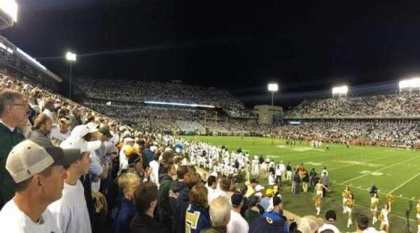 Bobby Dodd Stadium, fila: 8, asiento: 9