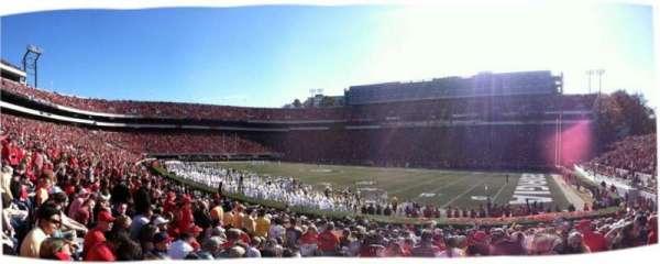 Sanford Stadium, sección: 103, fila: 19, asiento: 3