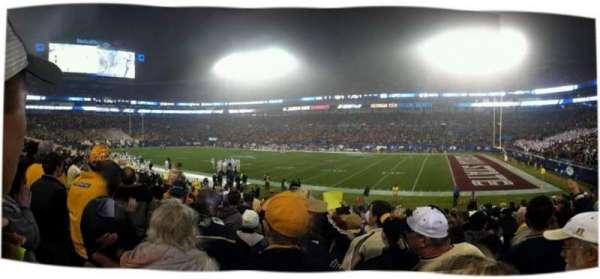 Bank of America Stadium, sección: 128, fila: 15, asiento: 4