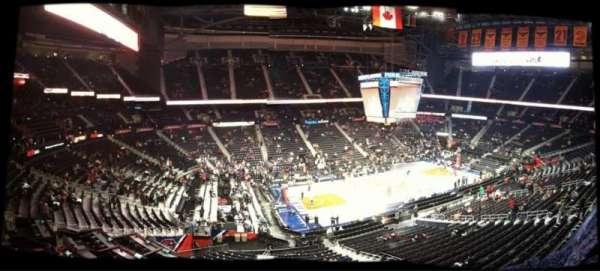 State Farm Arena, sección: B 108, fila: 1, asiento: 2