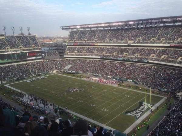 Lincoln Financial Field, sección: 207, fila: 16, asiento: 9