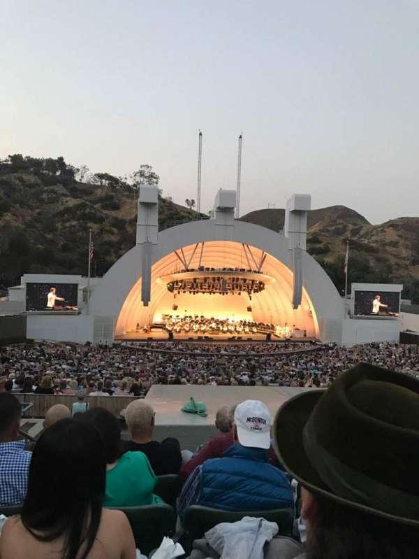 Hollywood Bowl, sección: J1, fila: 9, asiento: 4
