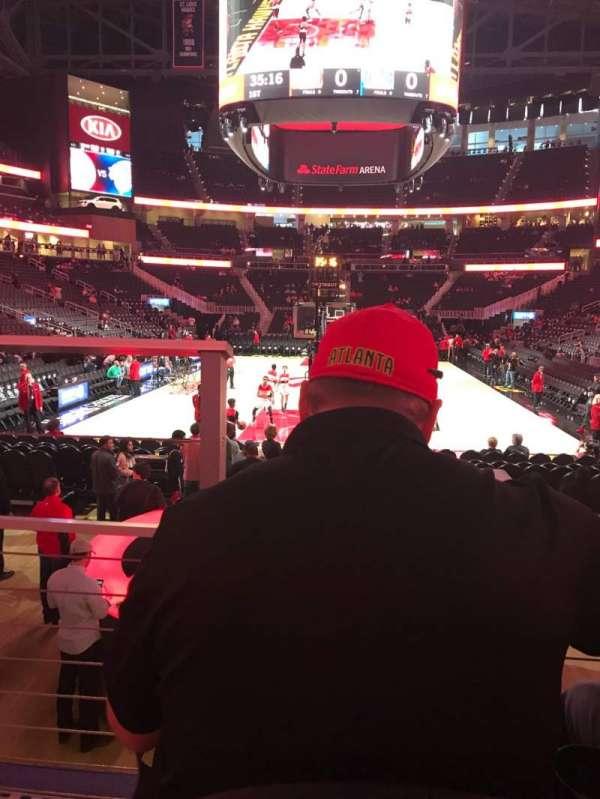 State Farm Arena, sección: 113, fila: B, asiento: 13