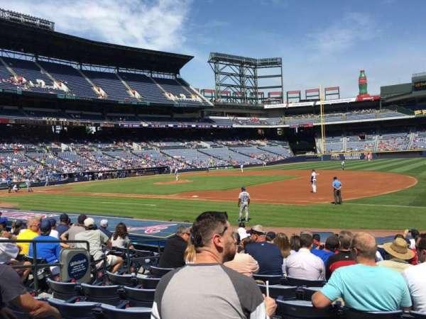 Turner Field, sección: 117R, fila: 14, asiento: 7