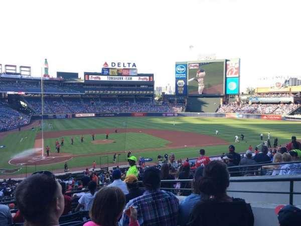 Turner Field, sección: 205R, fila: 7, asiento: 5