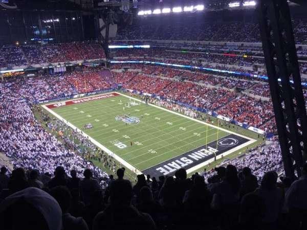 Lucas Oil Stadium, sección: 631, fila: 19, asiento: 6