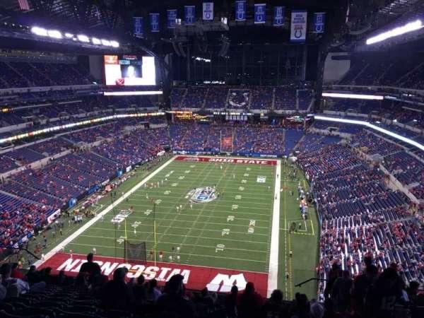Lucas Oil Stadium, sección: 625, fila: 13, asiento: 3