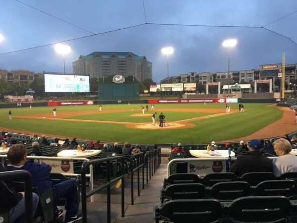 Dr Pepper Ballpark, sección: 113, fila: 18, asiento: 12
