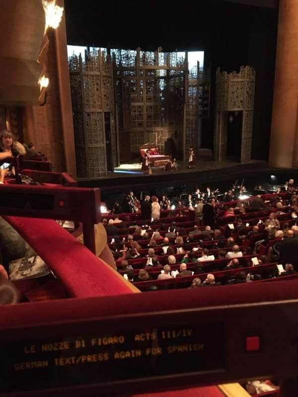 Metropolitan Opera House - Lincoln Center, sección: Parterre Box 11, asiento: 2