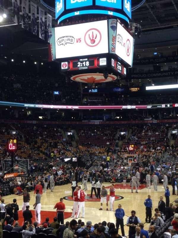 Scotiabank Arena, sección: 101, fila: 10, asiento: 7