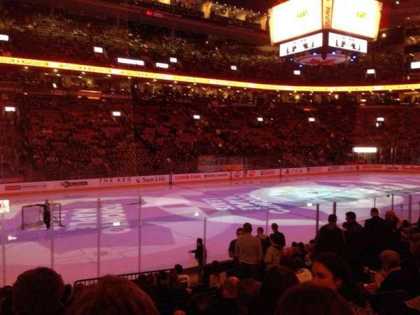Scotiabank Arena, sección: 121, fila: 13, asiento: 11