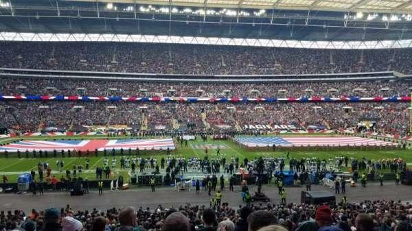 Wembley Stadium, sección: 123, fila: 37, asiento: 24