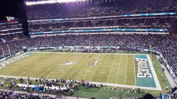 Lincoln Financial Field, sección: 228, fila: 9, asiento: 14