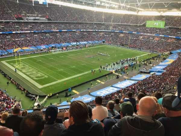 Wembley Stadium, sección: 507, fila: 7, asiento: 186