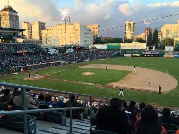 Chukchansi Park, sección: 604, fila: 8, asiento: 11