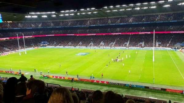 Twickenham Stadium, sección: M3, fila: 70, asiento: 67