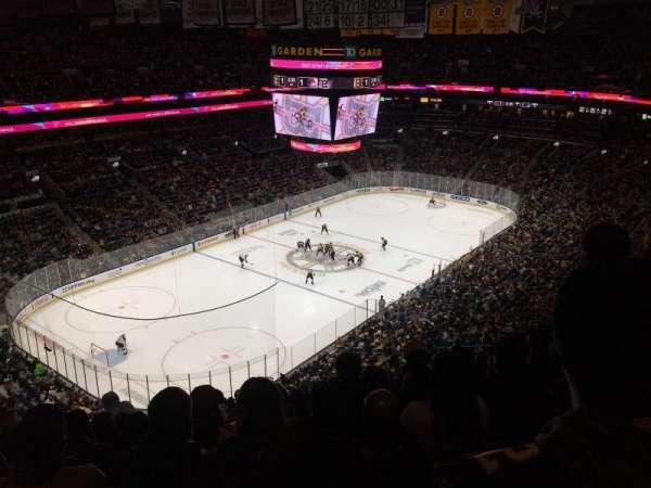 TD Garden, sección: Bal 305, fila: 13, asiento: 17
