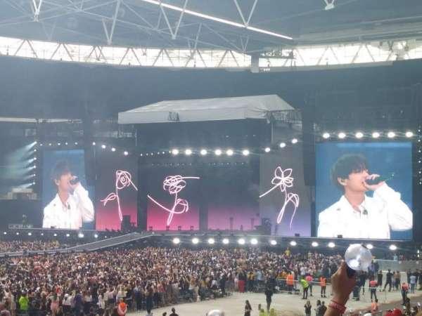 Wembley Stadium, sección: 104, fila: 27, asiento: 49
