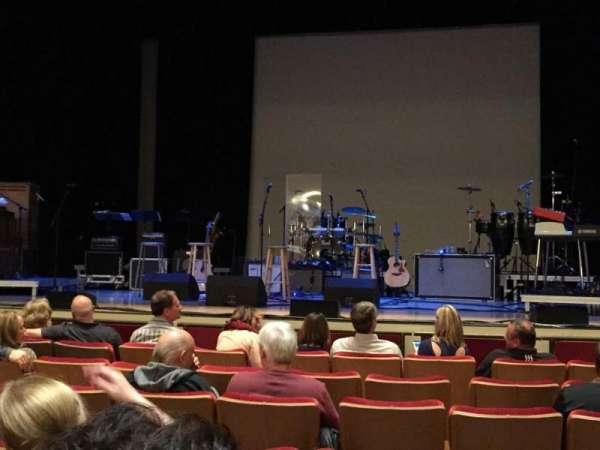 Woodruff Arts Center, sección: Orchr, fila: D, asiento: 17