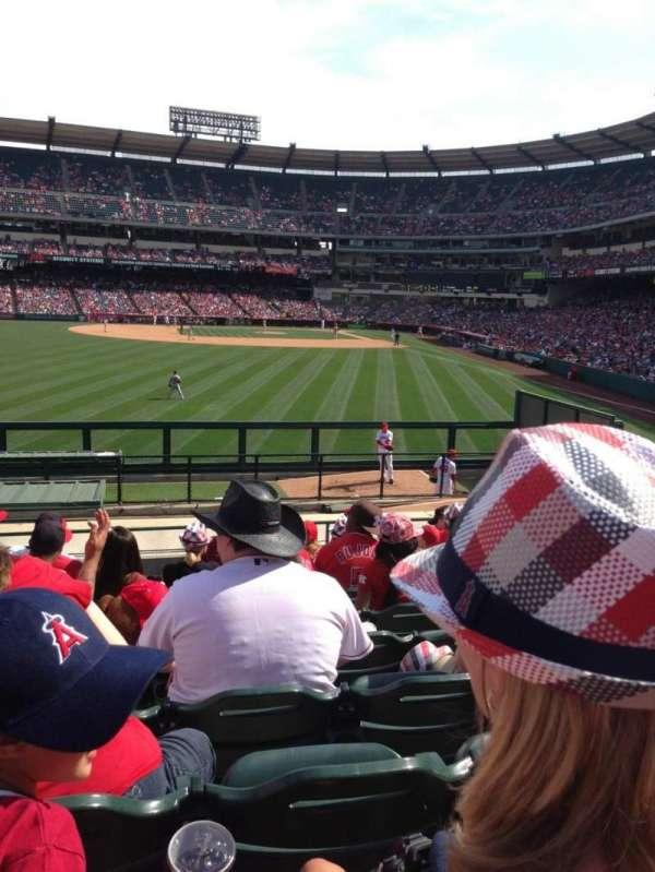 Angel Stadium, sección: P259, fila: S, asiento: 2