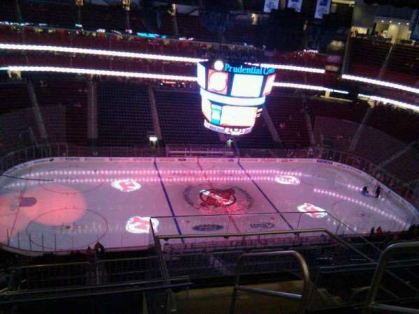 Prudential Center, sección: 210, fila: 5, asiento: 2