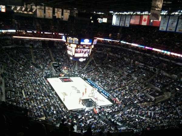 AT&T Center, sección: 218, fila: 13, asiento: 12