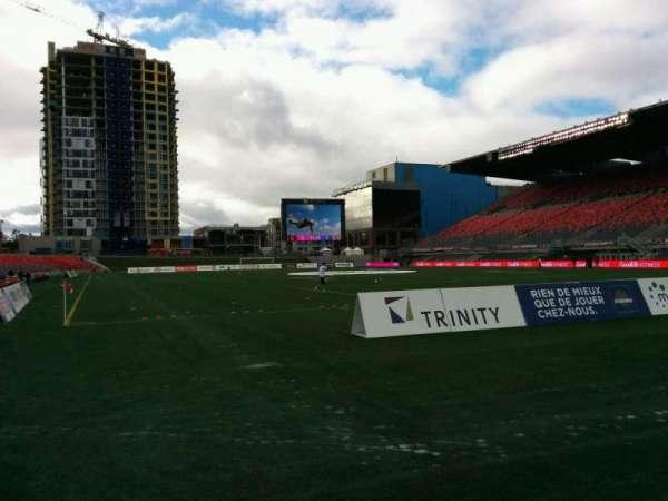 TD Place Stadium, sección: K, fila: 1, asiento: 3