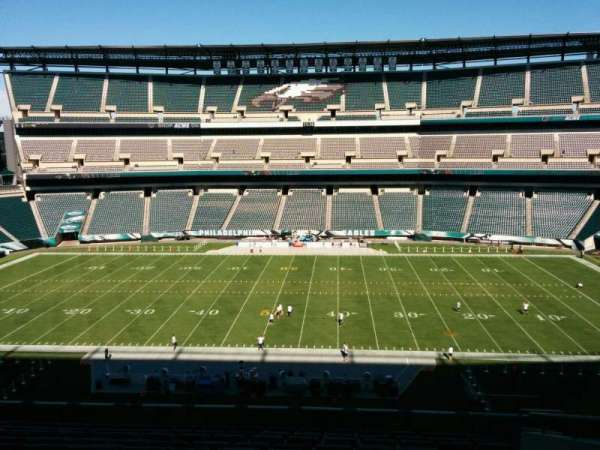 Lincoln Financial Field, sección: c1, fila: 17, asiento: 8