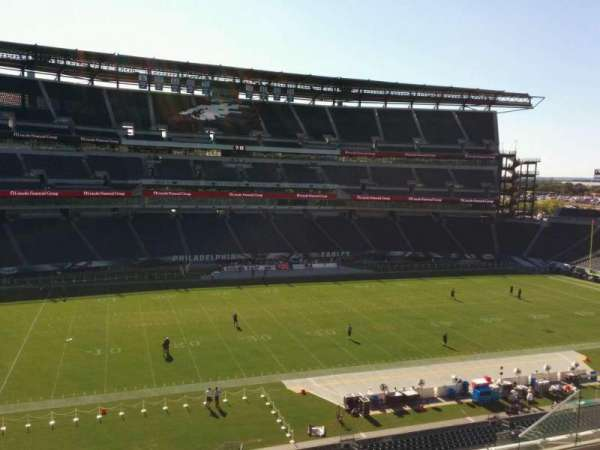 Lincoln Financial Field, sección: c19, fila: 12, asiento: 10