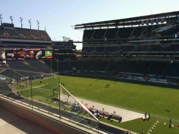 Lincoln Financial Field, sección: c24, fila: 8, asiento: 14