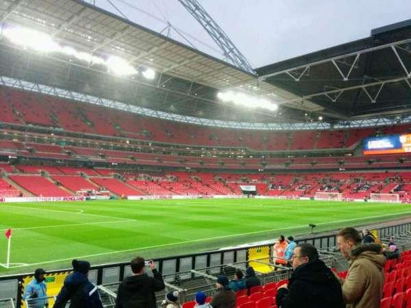 Wembley Stadium, sección: 127, fila: 11, asiento: 139