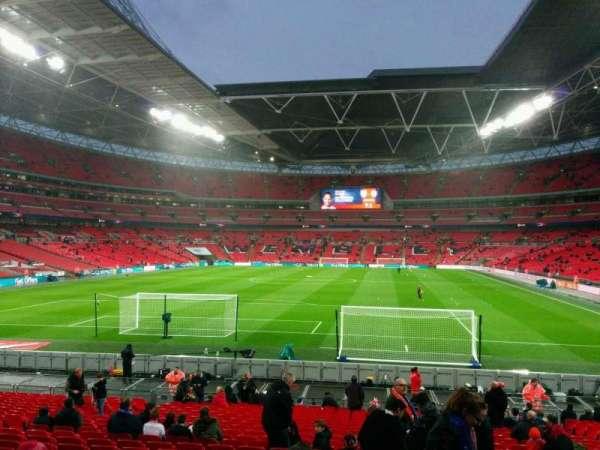 Wembley Stadium, sección: 132, fila: 24, asiento: 290