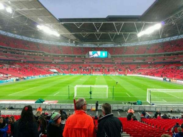 Wembley Stadium, sección: 133, fila: 26, asiento: 316