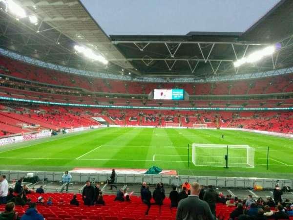 Wembley Stadium, sección: 135, fila: 24, asiento: 19