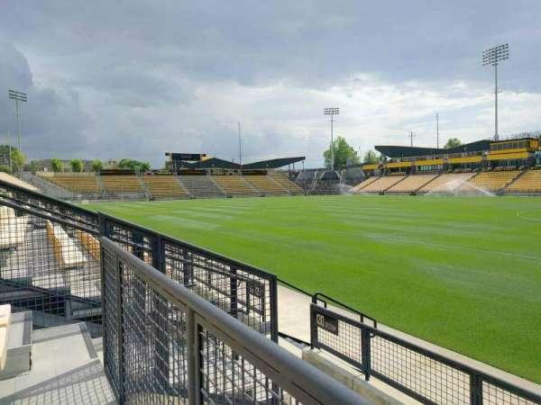 Fifth Third Bank Stadium, sección: 130, fila: d, asiento: 7