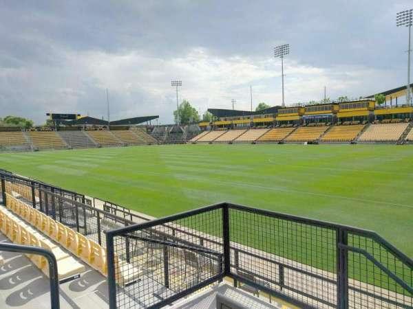 Fifth Third Bank Stadium, sección: 131, fila: g, asiento: 4