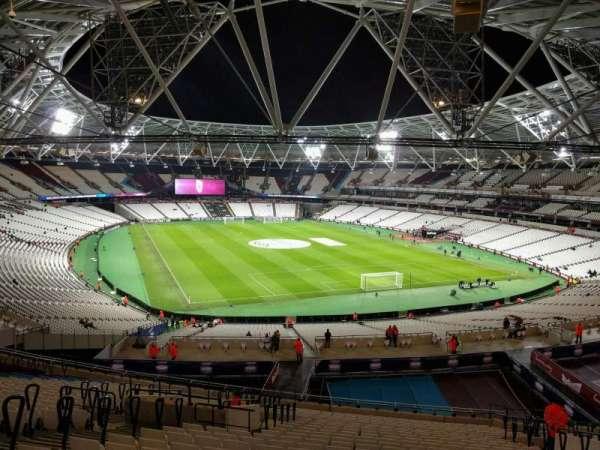 London Stadium, sección: 246, fila: 55, asiento: 108
