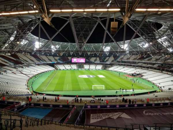 London Stadium, sección: 249, fila: 59, asiento: 42
