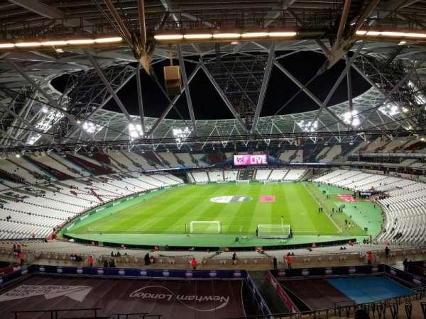 London Stadium, sección: 251, fila: 59, asiento: 824