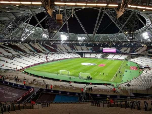 London Stadium, sección: 254, fila: 59, asiento: 759