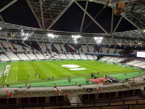 London Stadium, sección: 205, fila: 53, asiento: 539